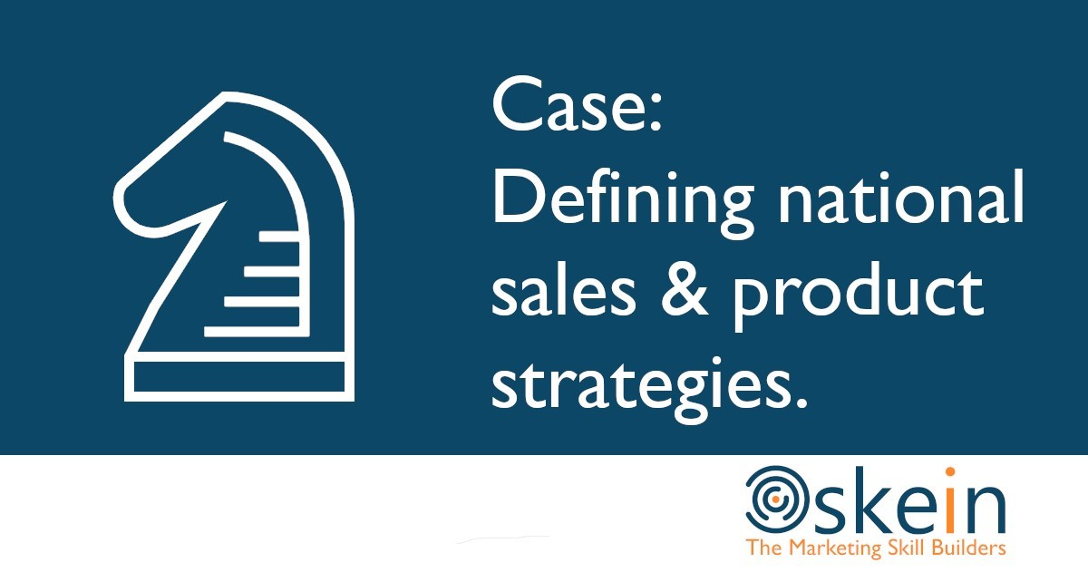 Defining national Sales & Product Strategies