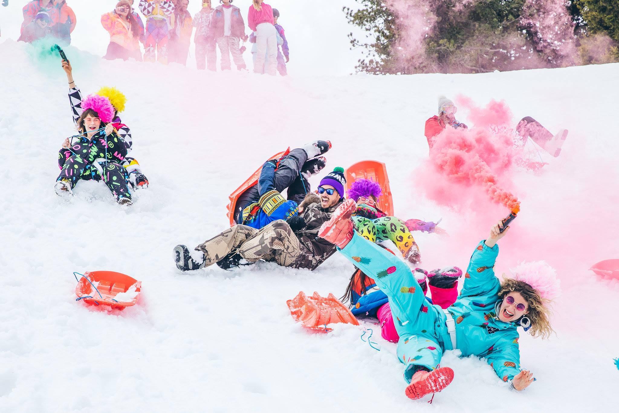 SNOW GAMES #tesamen in team enkele leuke opdrachten uitvoeren