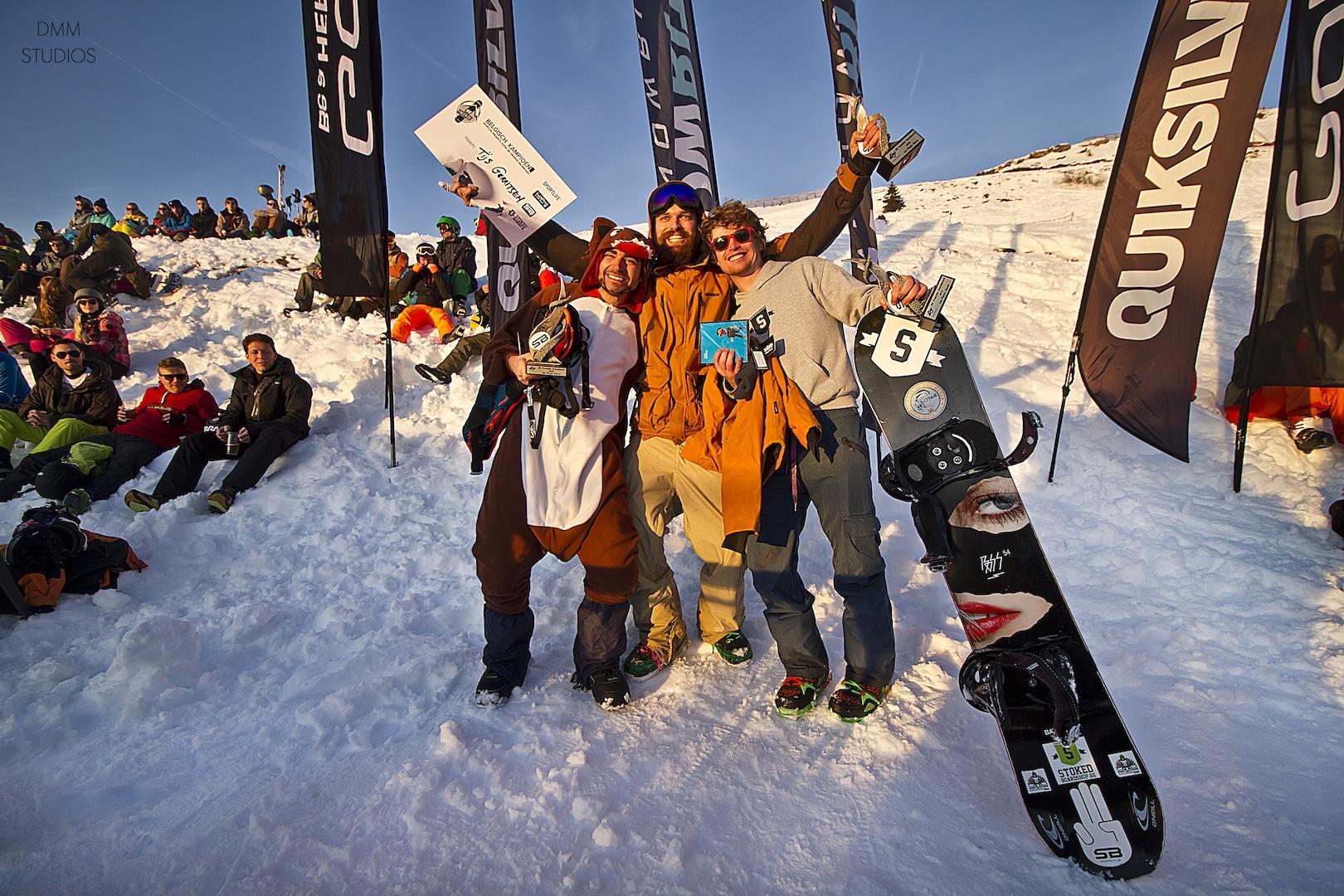 70 centimeter verse sneeuw op Sportlife presents: GoPro BK Freeride Snowboard