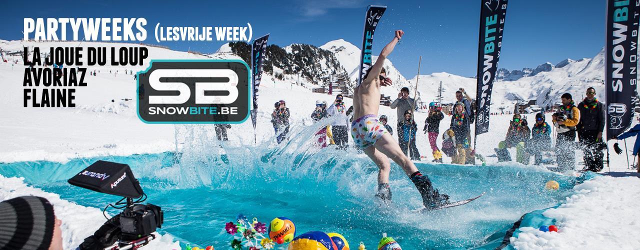 SnowBite Partyweeks Avoriaz - Flaine - Joue Du Loup