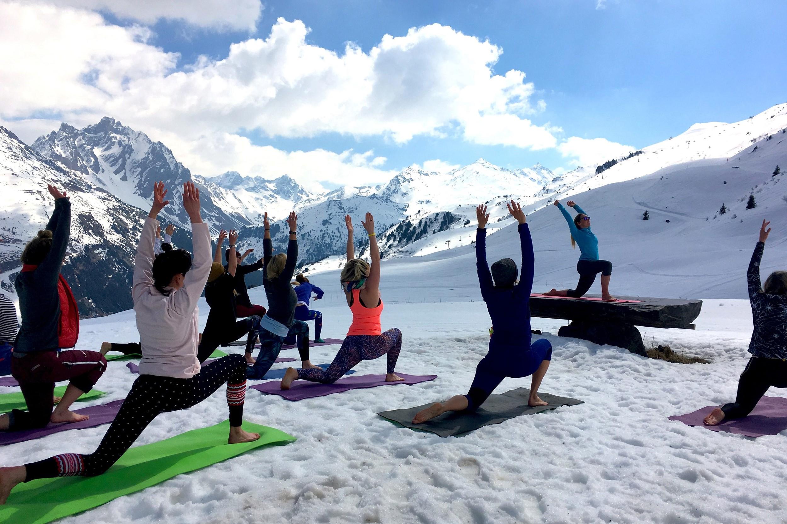 YOGA MOUNTAIN SESSIONS # totally zen met de Himalayan Yoga Master