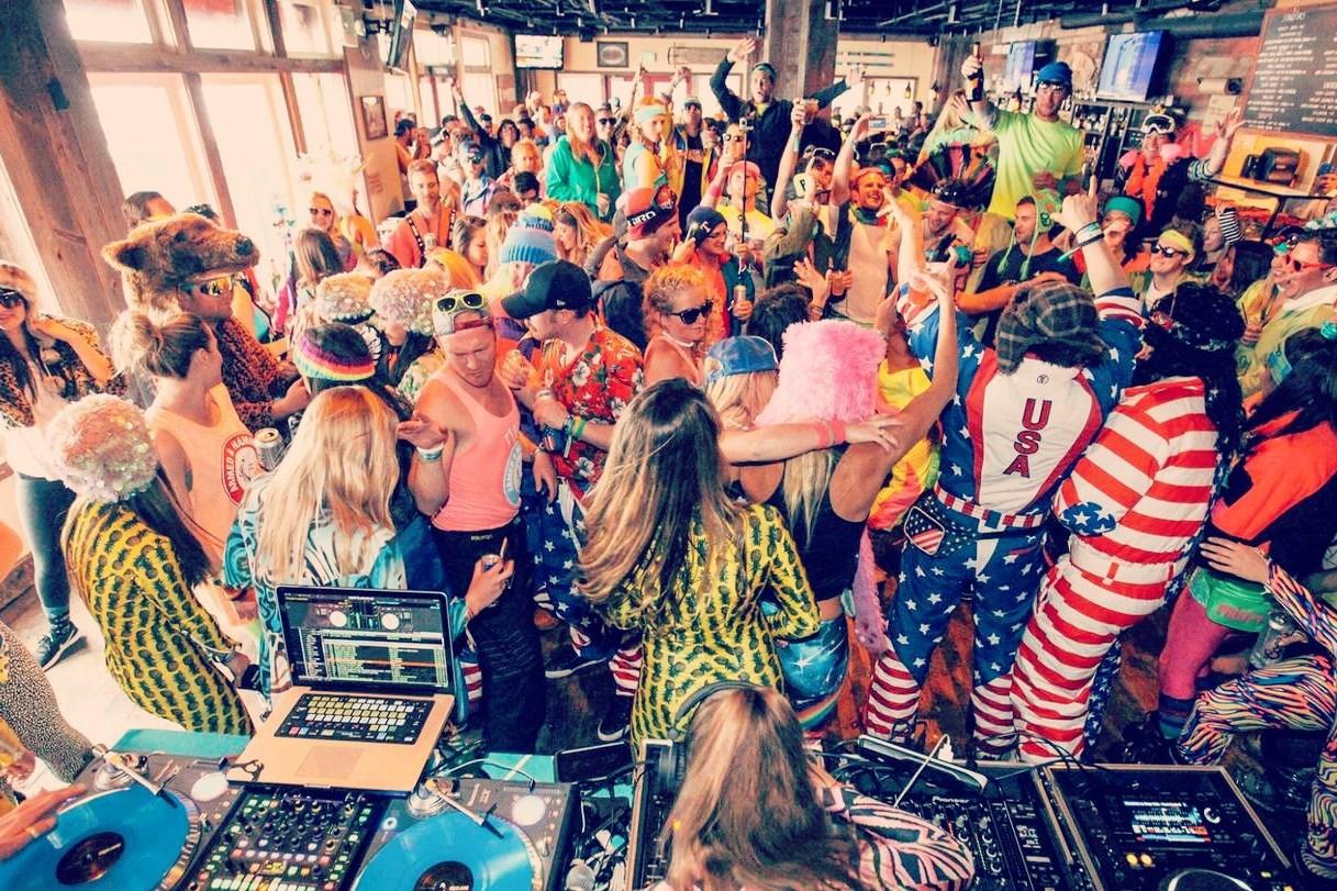 ROOFTOP PARTY# feest op het dak met prachtige view