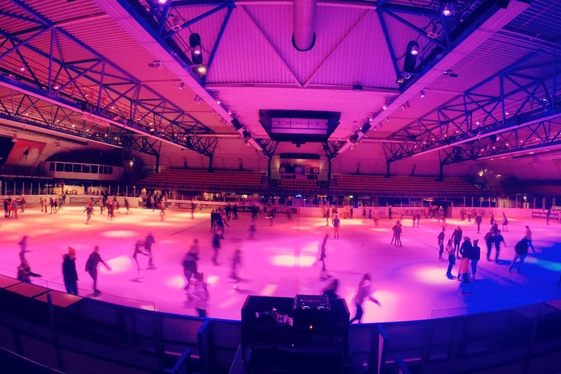 DISCO SCHAATSEN #rollerdisco on ice
