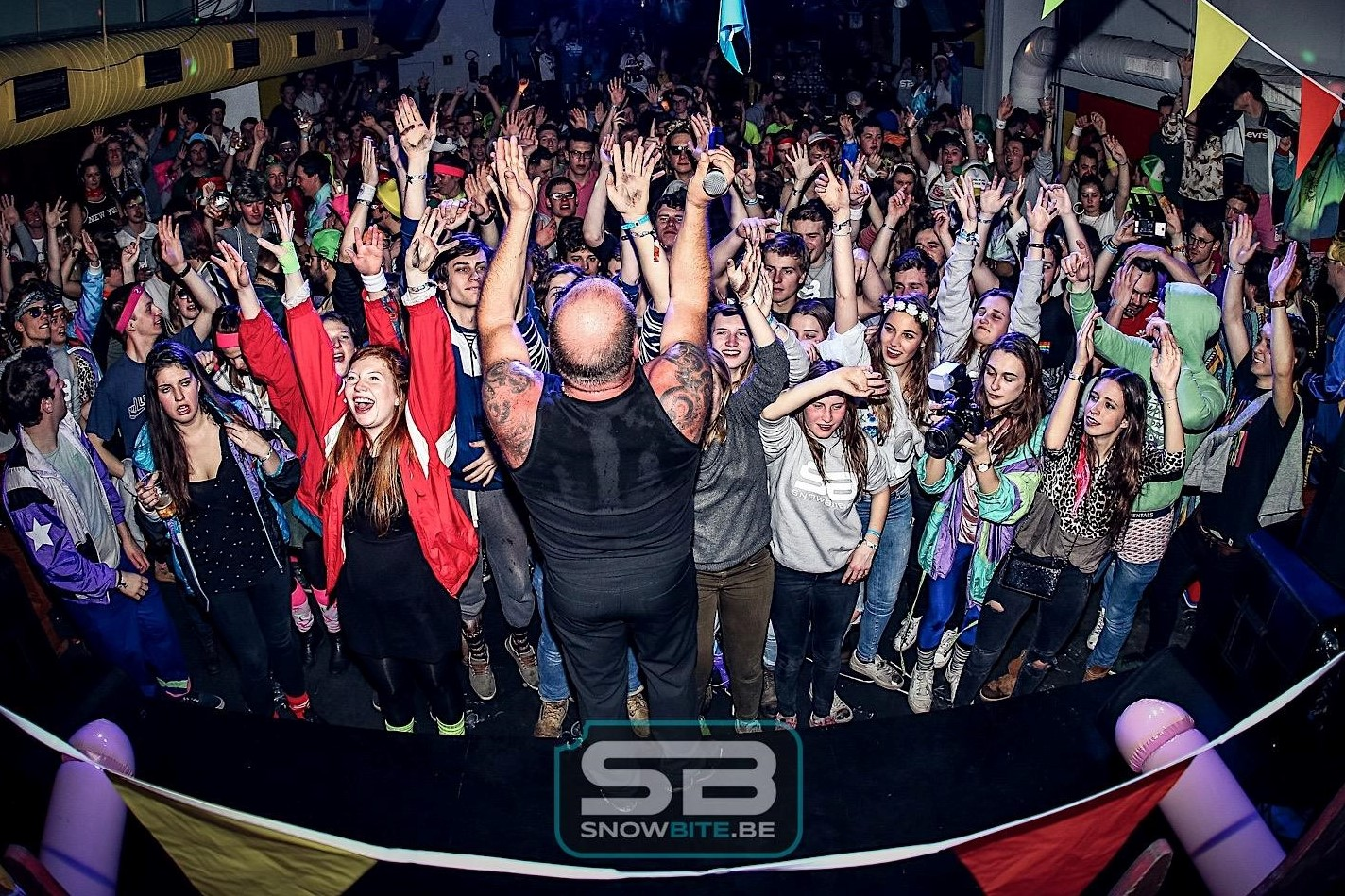 PARTIES #memorabele feestjes in de eigen SnowBite club