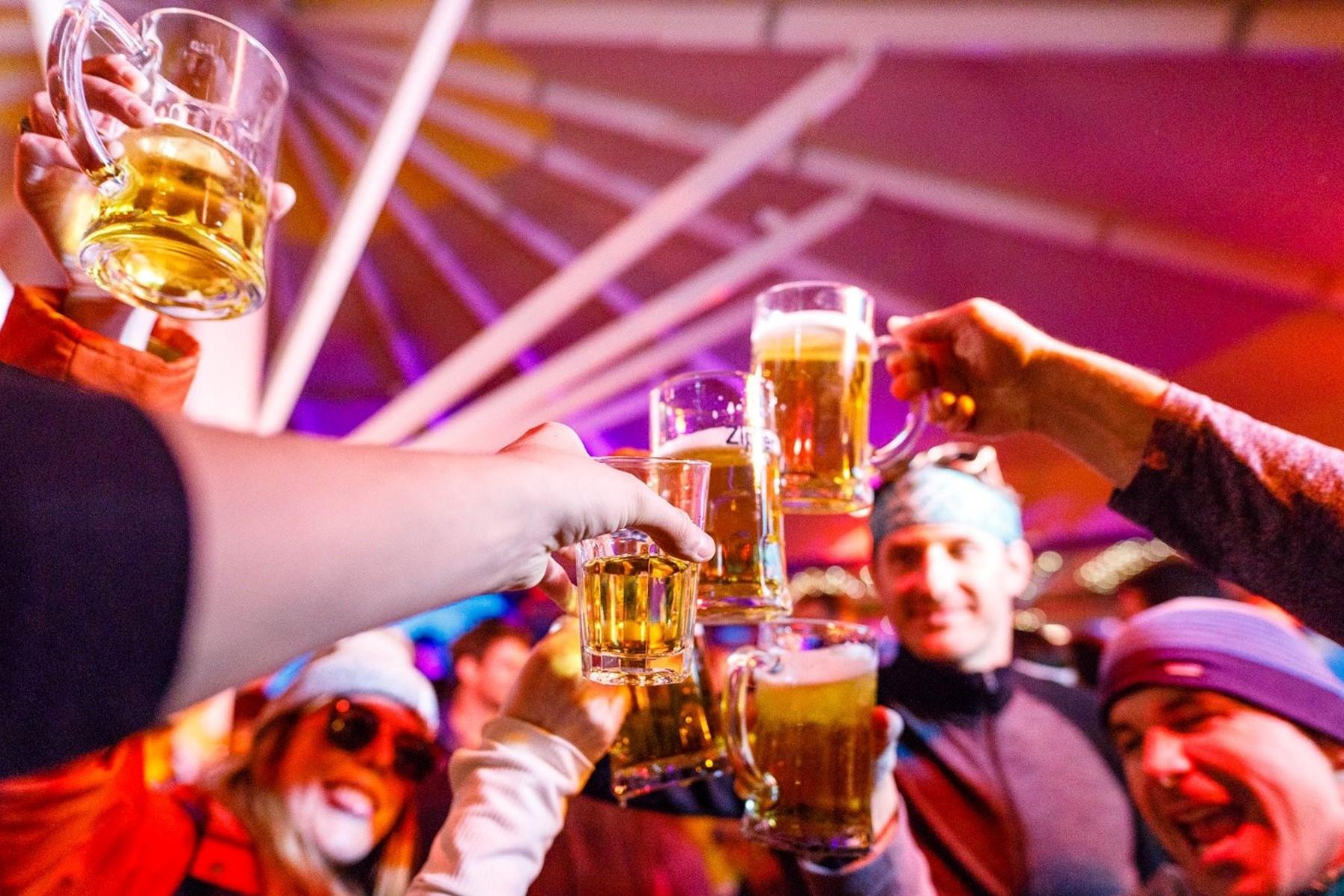 ALL-IN DRANKFORMULE #bier en frisdranken à volonté in de Sneeuwstorm club
