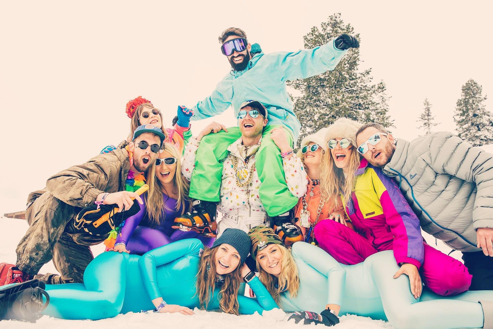 Ski safari #ski slalom