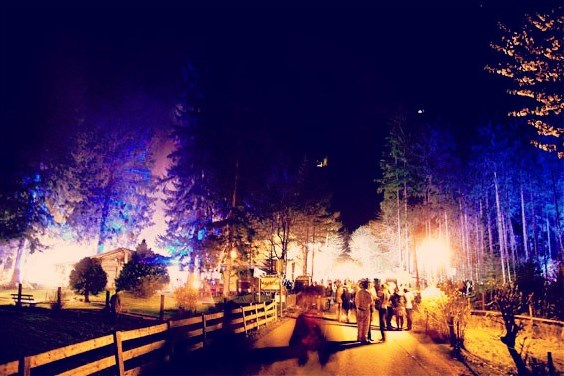 FOREST PARTY # into the woods