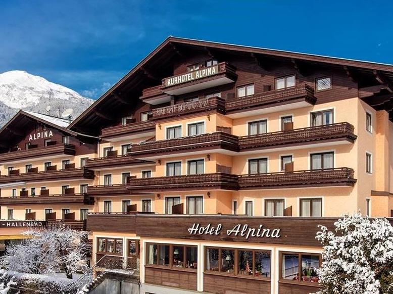 Hotel Alpina **** (€479 pp)