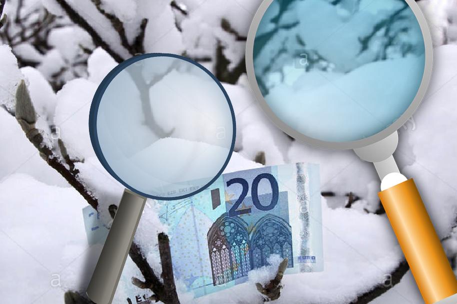 SNOWBITE CASH GAMES# zoek en vind massa's cash in de sneeuw tijdens de partyweek