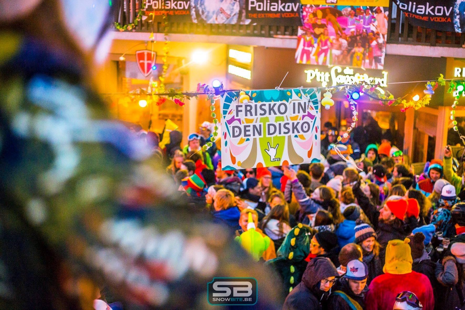 FRISKO IN DEN DISCO #waanzinnige feestjes op unieke locaties