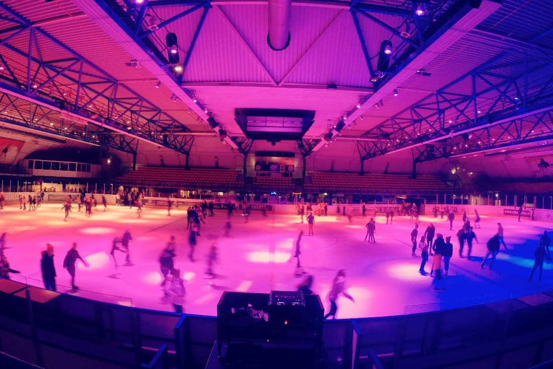 DISKO SCHAATSEN #rollerdisco on ice