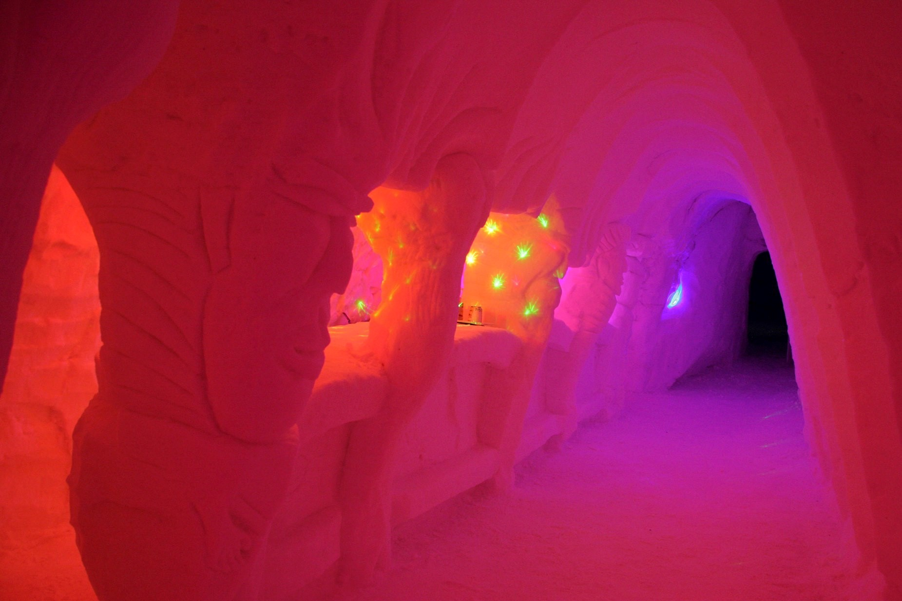 THE IGLOO#Ice cold experience in Les Arcs