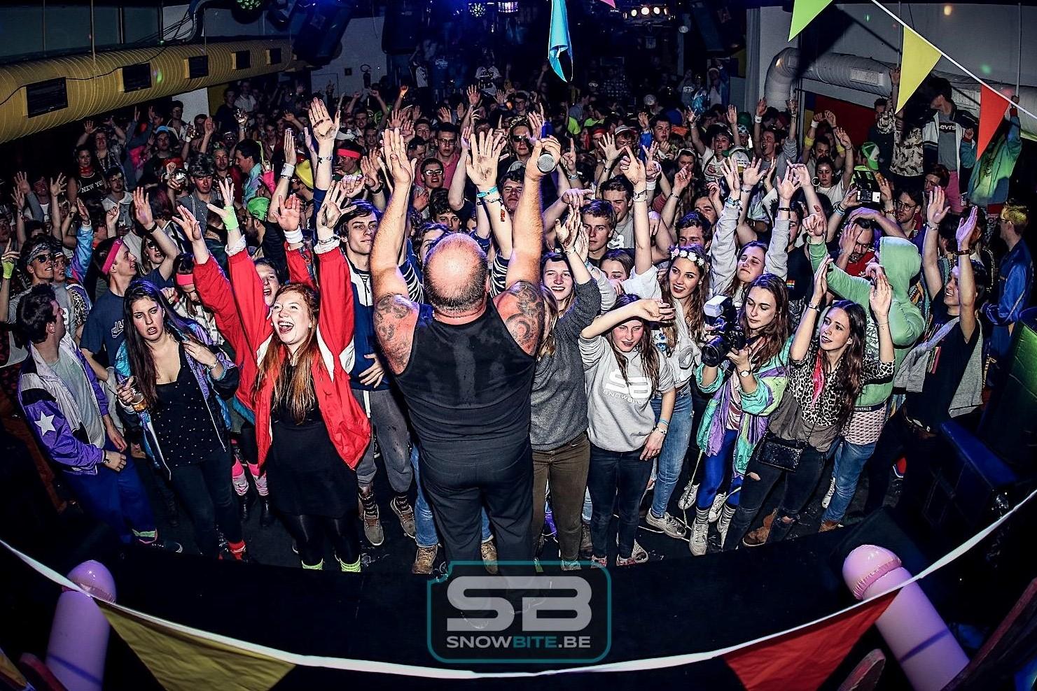 PARTIES #memorabele parties in de eigen SnowBite Club
