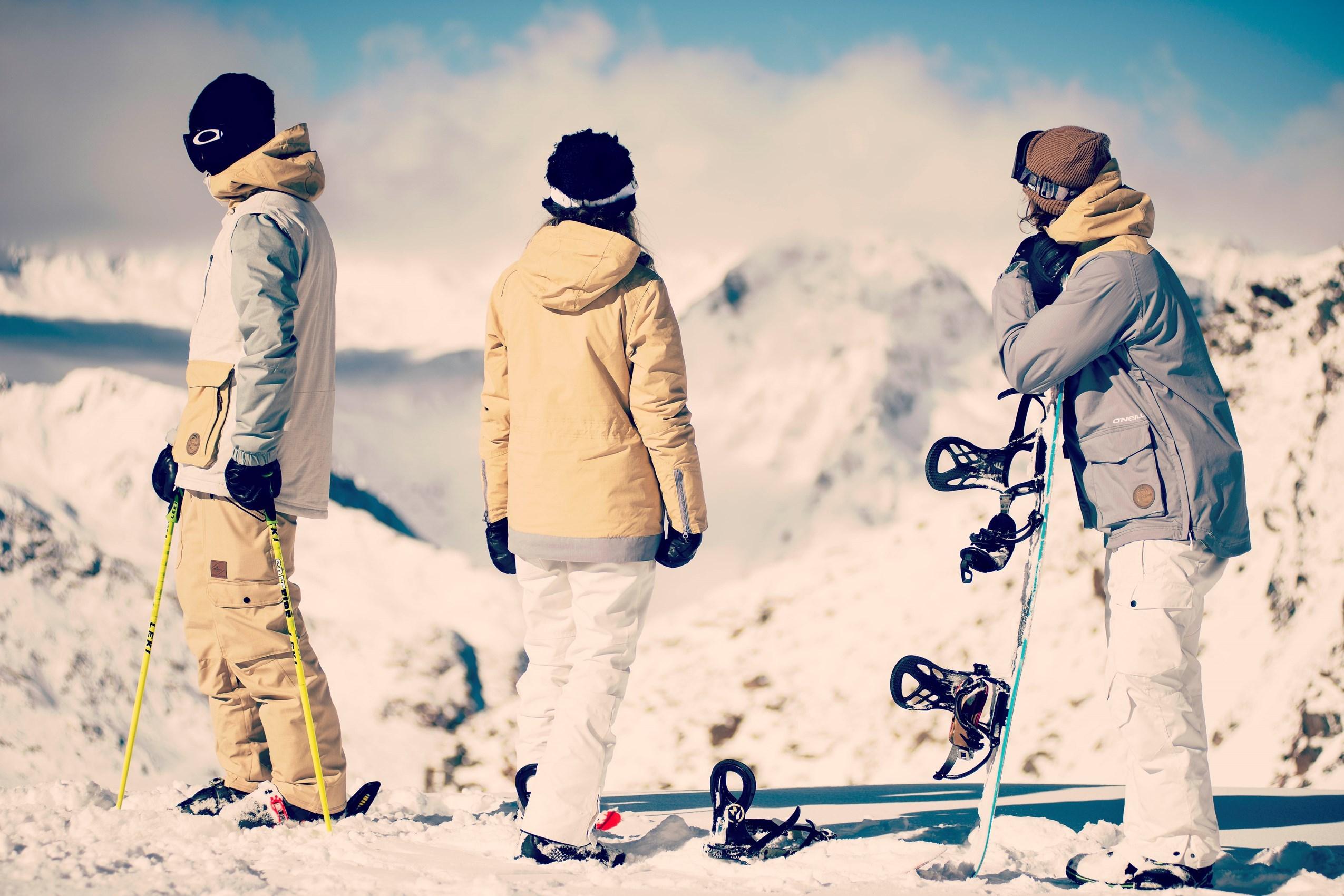SKI & SNOWBOARD#ten volle genieten van prachtige pistes
