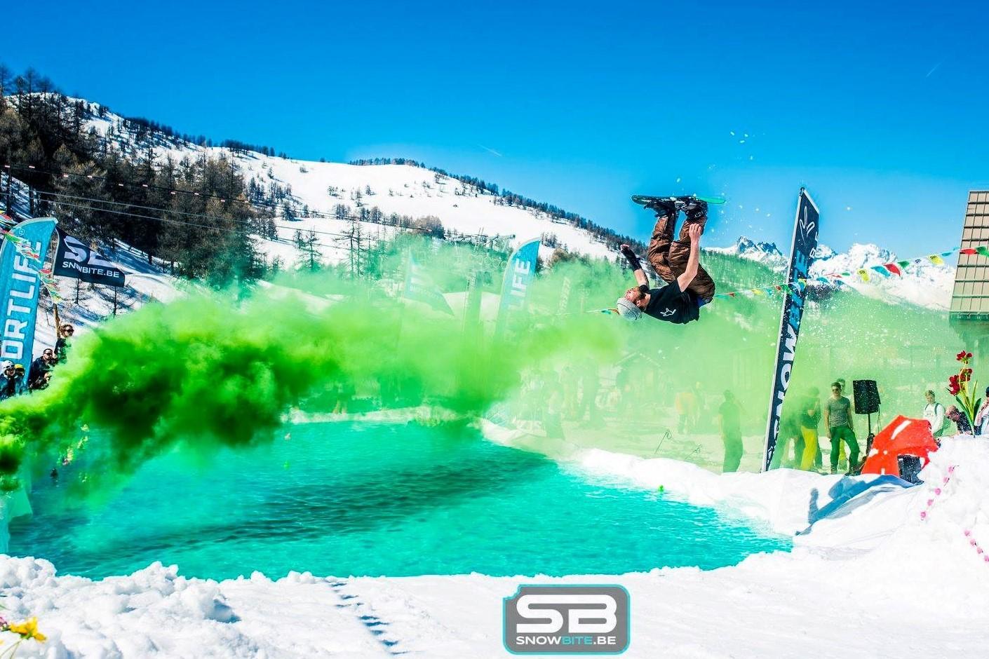 DREAM 2: SNOWCLASH WATERSLIDE #de natte droom van elke rider