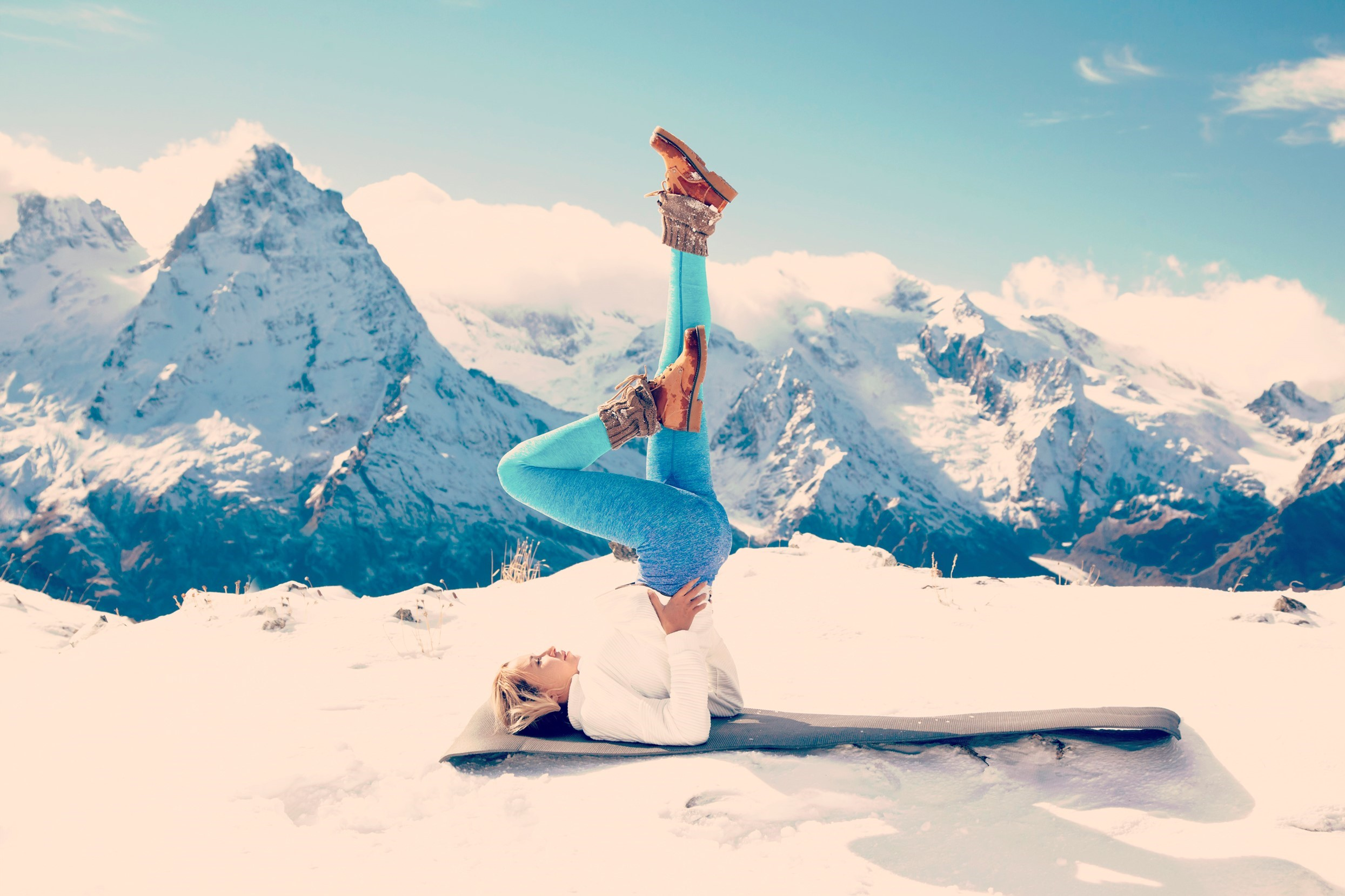 YOGA SESSIONS#Yoga sessions on top of the world