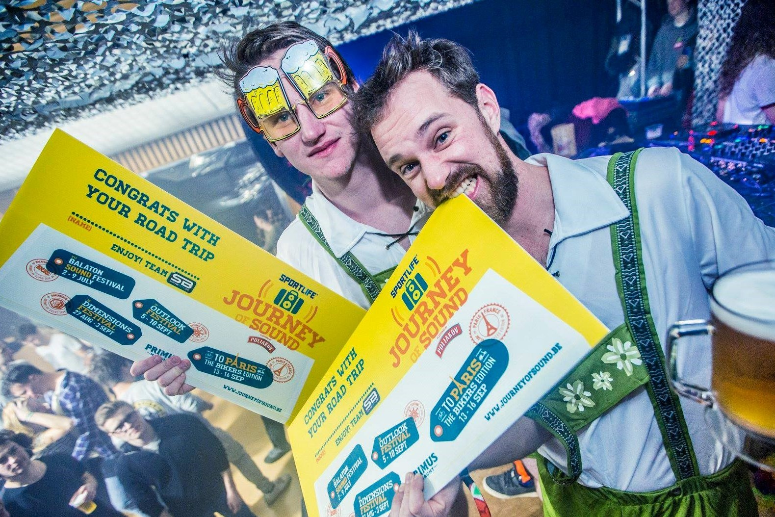 WIN JOURNEY OF SOUND TICKETS#win de road trip van je leven naar oa Balaton Sound Festival
