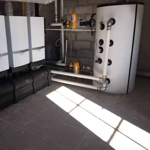 Sanitair Nieuwbouwappartementen  Project Knokke
