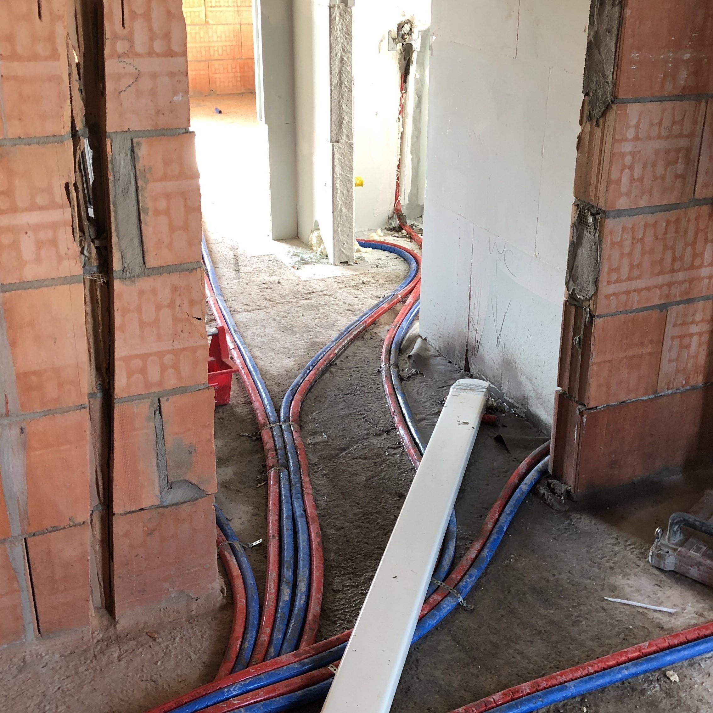 Sanitaire installaties  nieuwbouwwoningen Kortrijk