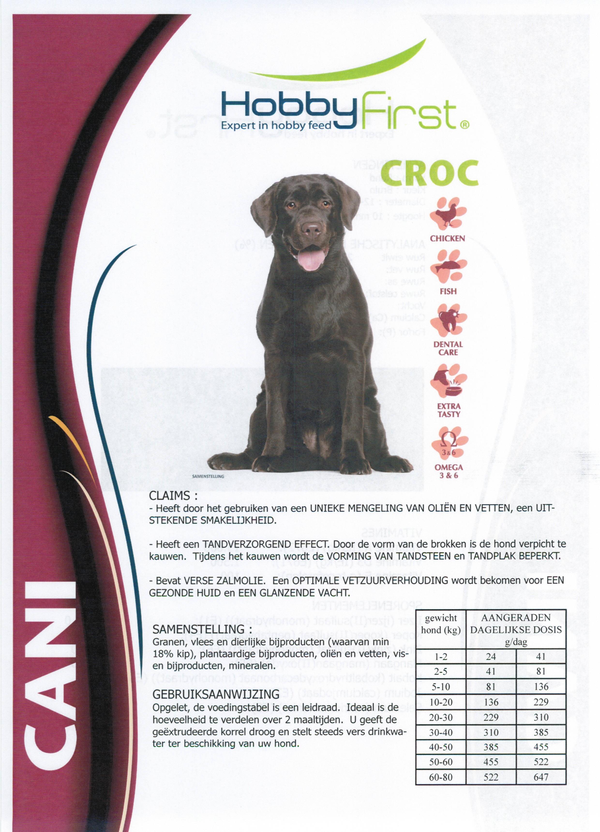 Hondenkorrel CANI crock (12kg)