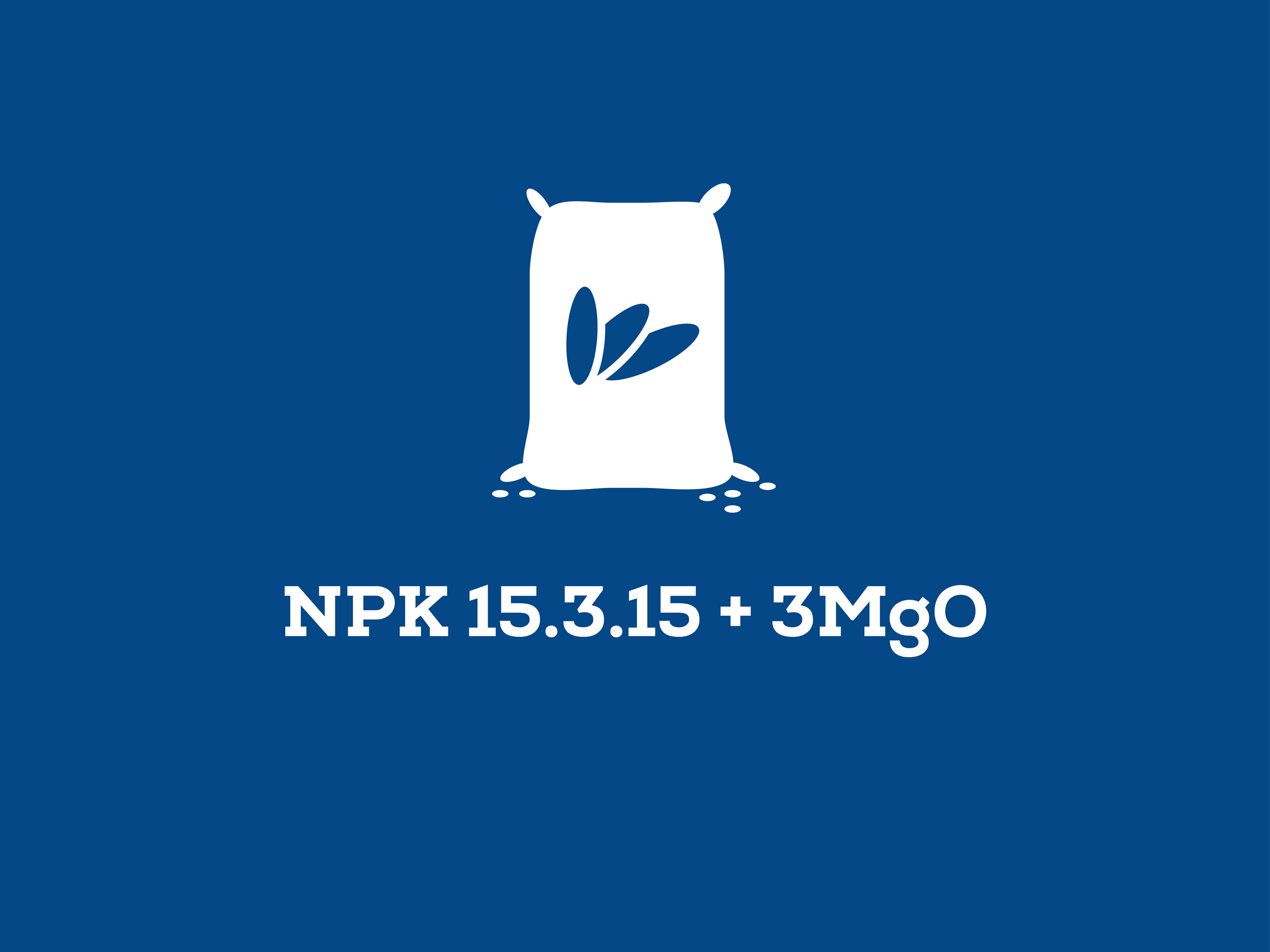 NPK 15.3.15 + 3MgO