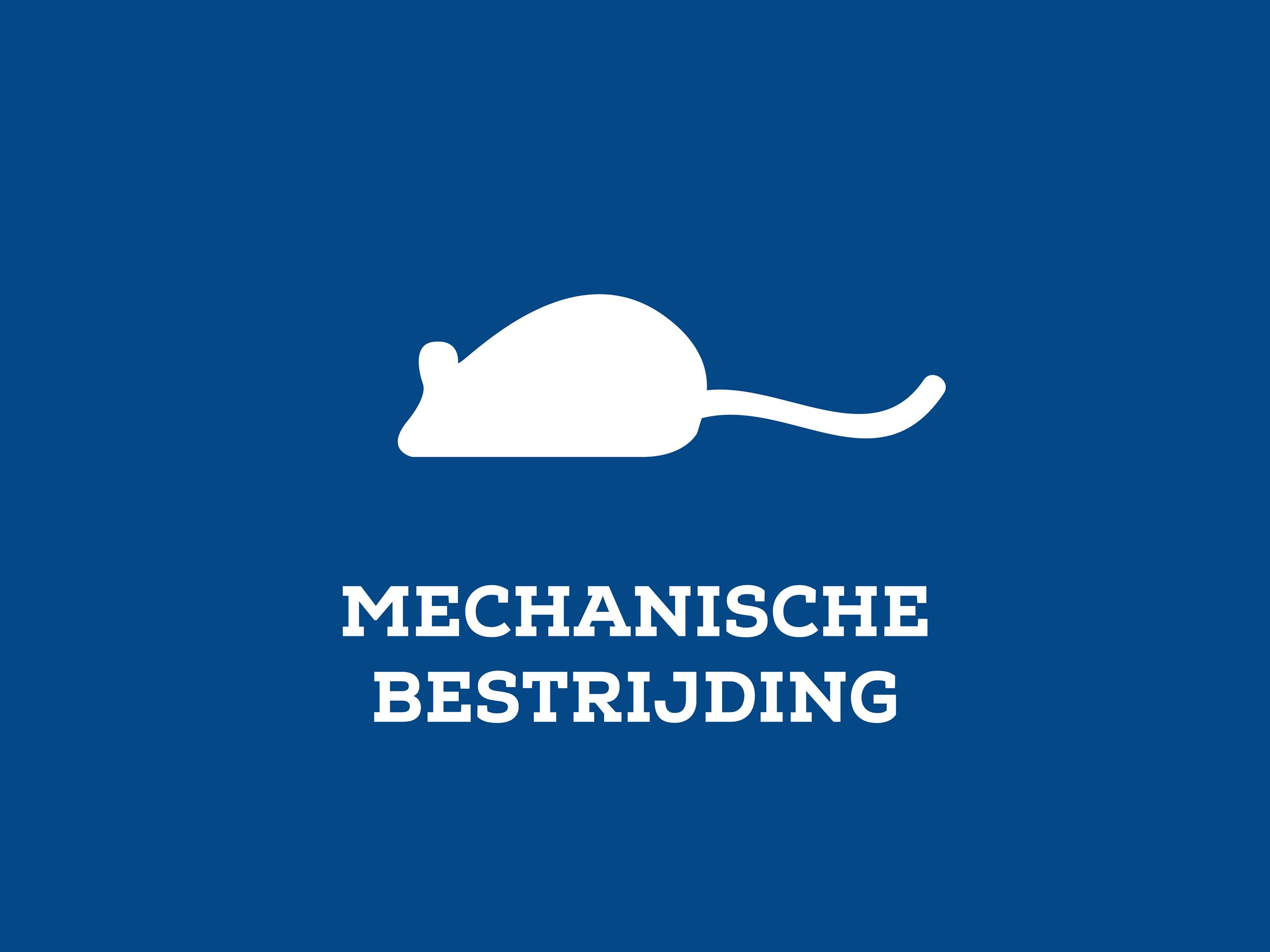 Mechanische bestrijding