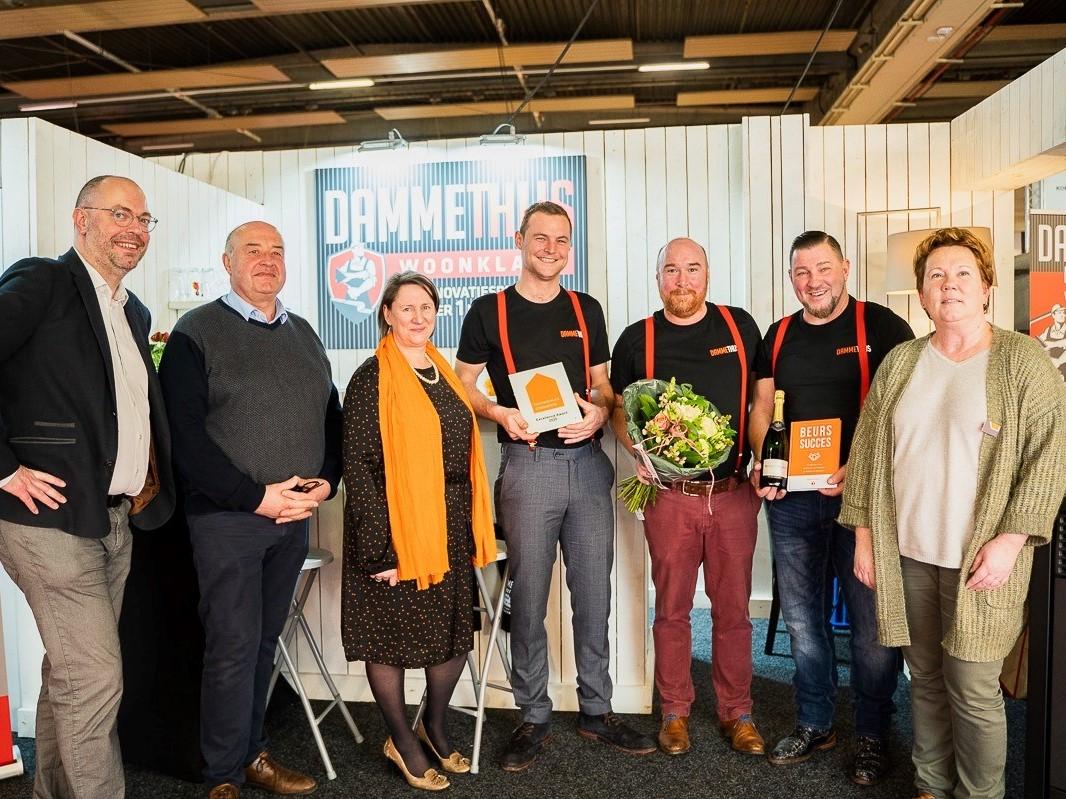 Woonklaar wint de Excellence Awards op Bouwbeurs Roeselare